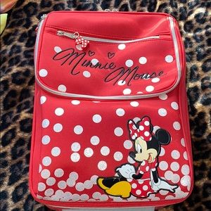 "Children's Disney Suitcase. 17"" long, used once"